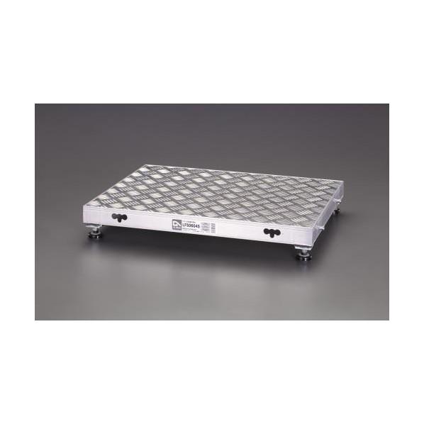 【送料無料】エスコ(esco) 450x450mm/0.22m 低床作業台(伸縮調整脚) EA903BT-11 1個
