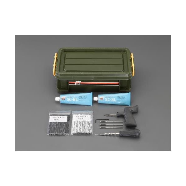 【送料無料】エスコ(esco) パンク修理セット(外面用) EA934Z-5 1個