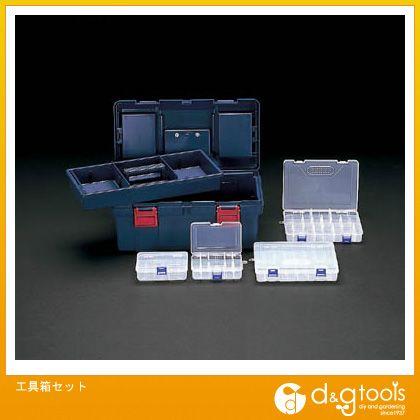 【送料無料】エスコ 工具箱セット EA505KA-5S