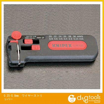 【送料無料】エスコ ワイヤーストリッパー 0.25-0.8mm EA580KB-2