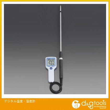 【送料無料】エスコ デジタル温度・湿度計 EA742GK-10 0