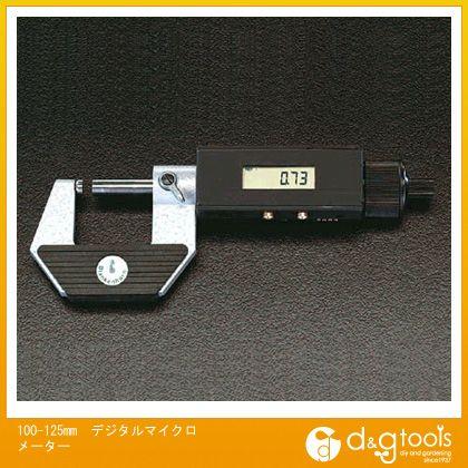 【送料無料】※法人専用品※エスコ デジタルマイクロメーター 100-125mm EA725EF-5