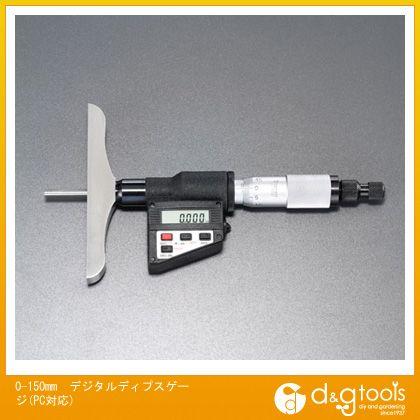0-150mmデジタルディプスゲージ(PC対応)   EA725FC-41