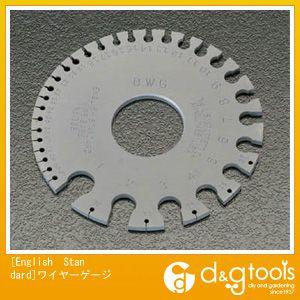 【送料無料】エスコ [EnGliShStAnDARD]ワイヤーゲージ   EA725SD-21  シクネスゲージ測定器具