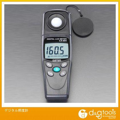 【送料無料】エスコ デジタル照度計 EA712A-6 0