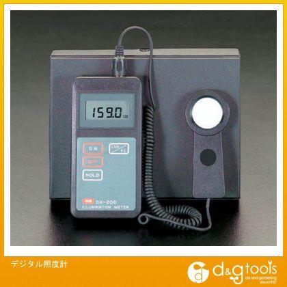 【送料無料】エスコ デジタル照度計 EA712AE-2 0