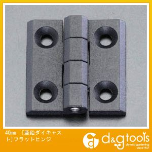エスコ 40mm[亜鉛ダイキャスト]フラットヒンジ EA951CR-51