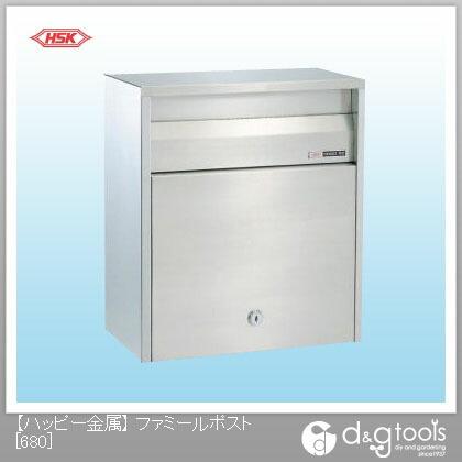 【送料無料】ハッピー金属 ファミールポスト(ステンレスポスト) 680