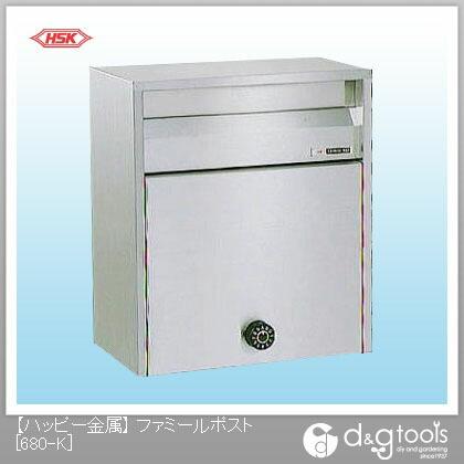 【送料無料】ハッピー金属 ファミールポスト(ステンレスポスト) 680-K