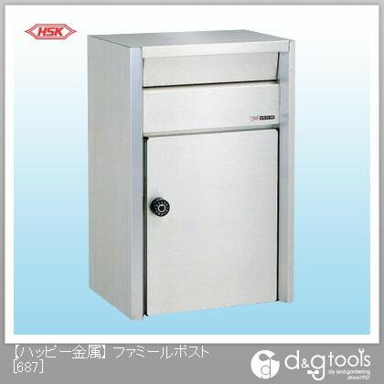 【送料無料】ハッピー金属 ファミールポスト(ステンレスポスト) 687