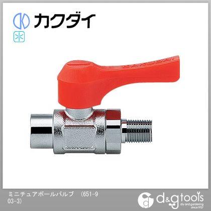 カクダイ/KAKUDAI ミニチュアボールバルブ 651-903-3