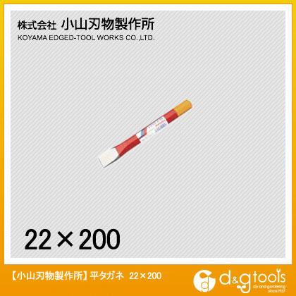 平タガネ22mm200mm   A1-22