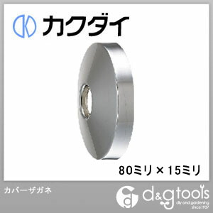 カクダイ(KAKUDAI) カバーザガネ 80ミリ×15ミリ 0177-80×15