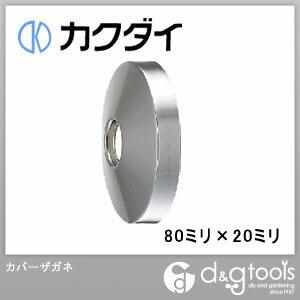 カクダイ(KAKUDAI) カバーザガネ 80ミリ×20ミリ 0177-80×20
