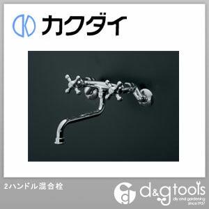 カクダイ(KAKUDAI) 2ハンドル混合栓(混合水栓) 122-006