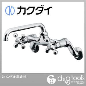 2ハンドル混合栓(混合水栓)   124-105K