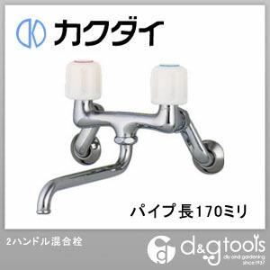 カクダイ(KAKUDAI) 2ハンドル混合栓(混合水栓)寒冷地用 1280SKK-170