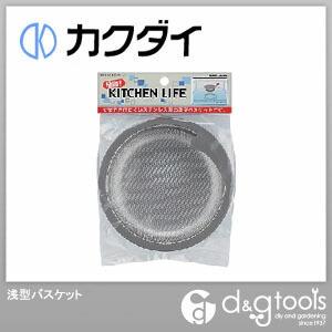 カクダイ(KAKUDAI) 浅型バスケット 4512-50