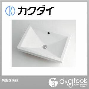 カクダイ(KAKUDAI) 角型洗面器 493-002