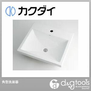 カクダイ(KAKUDAI) 角型洗面器 493-003