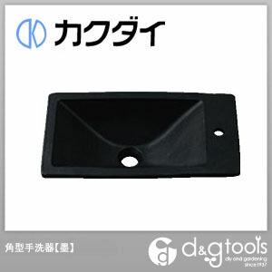 カクダイ(KAKUDAI) 角型手洗器 墨 493-010-D