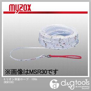 【送料無料】マイゾックス ミリオン測量ロープ100m MSR100