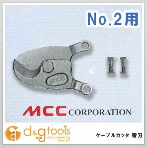【送料無料】MCC ケーブルカッタ替刃 No.2 CCE0302