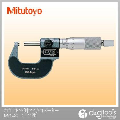 カウント外側マイクロメーター(193-101)   M810-25