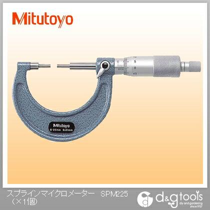 【送料無料】ミツトヨ スプラインマイクロメーター(111-215) SPM2-25