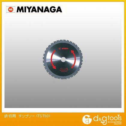 ミヤナガ 鉄切用チップソー TST80