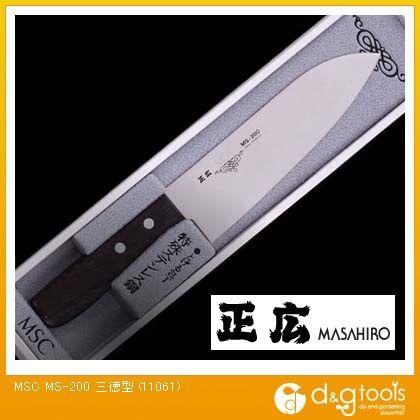 包丁MS-200三徳型ステンレス包丁   11061