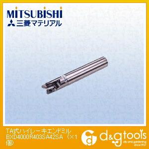 【送料無料】ミツビシマテリアル TA式ハイレーキエンドミル BXD4000R403SA42SA 1個