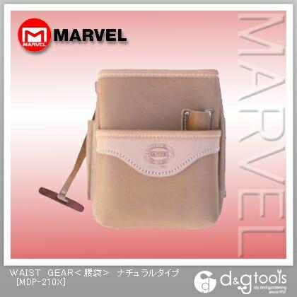 【送料無料】マーベル WAISTGEAR(腰袋) ナチュラル MDP-210X