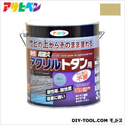 油性高耐久アクリルトタン用塗料 ニュークリーム 3kg