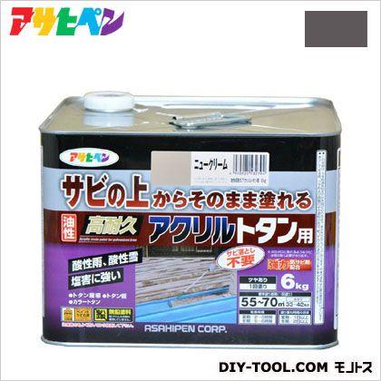 油性高耐久アクリルトタン用塗料 グレー 6kg