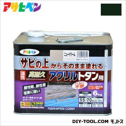 油性高耐久アクリルトタン用塗料 ディープグリーン 6kg