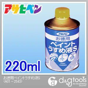 お徳用ペイントうすめ液S220ML  220ml