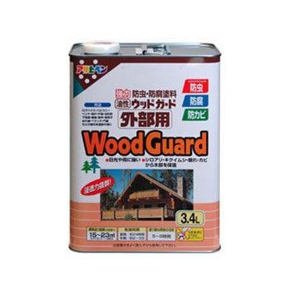 油性ウッドガード外部用 コロラドグリーン 3.4L