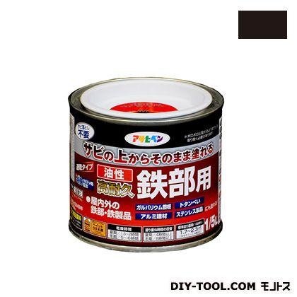 油性高耐久鉄部用塗料 ツヤ消し黒 1/5L