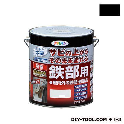 油性高耐久鉄部用塗料 黒 3L