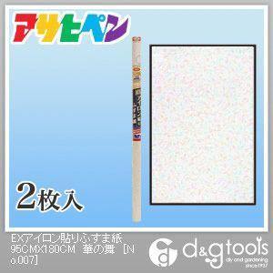 EXアイロン貼りふすま紙 華の舞 幅95cm×長180cm No.207 2 枚
