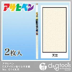 EXアイロン貼りふすま紙 天竺 幅95cm×長180cm No.214 2 枚