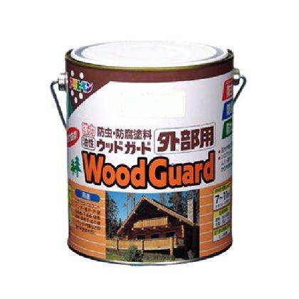 油性ウッドガード外部用 ダークオーク08 1.6L