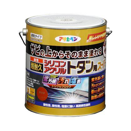 油性超耐久シリコンアクリルトタン用 こげ茶 3kg