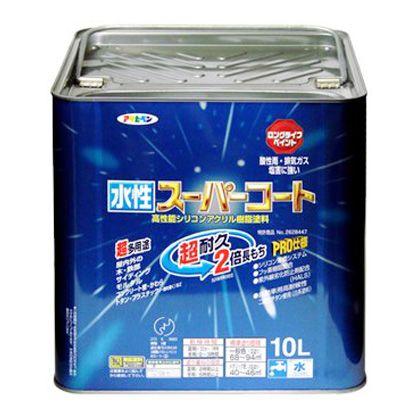 水性スーパーコート 白 10L