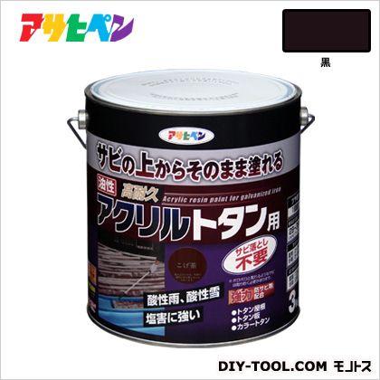 油性高耐久アクリルトタン用塗料 黒 3kg