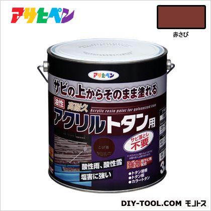 油性高耐久アクリルトタン用塗料 赤さび 3kg