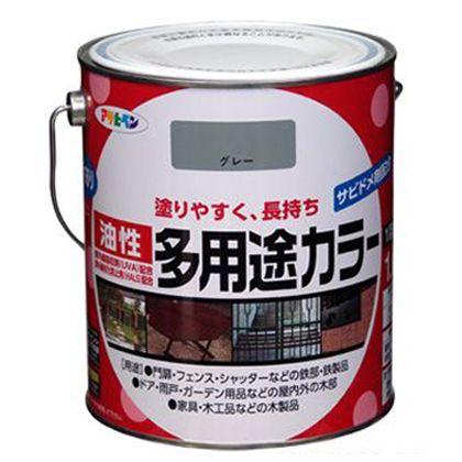 油性多用途カラー 白 1.6L