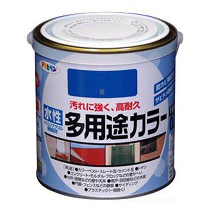 水性多用途カラー ツヤ消し白 1.6L