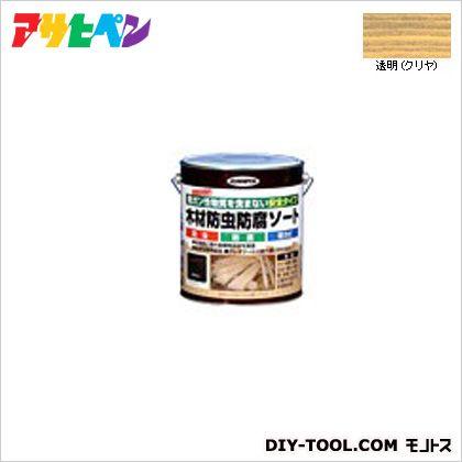木材防虫防腐ソート 透明 2.5L